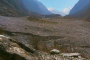 Langtang valley after the earthquake and avalanche