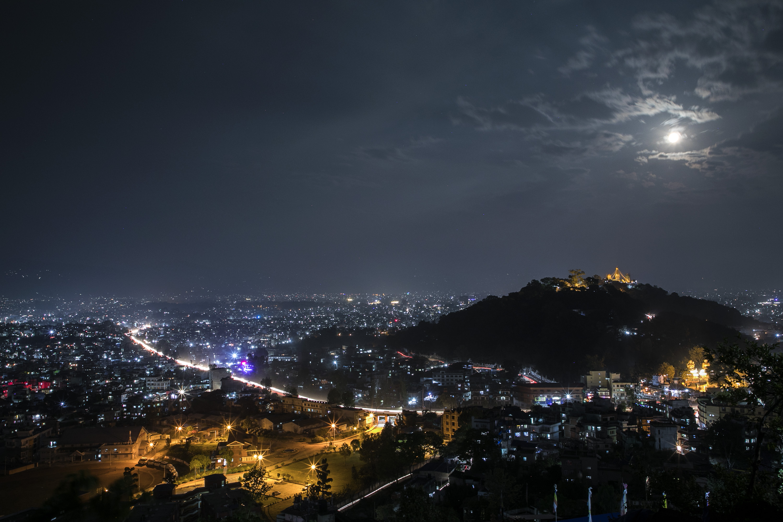 Night view-a-day-in-kathmandu