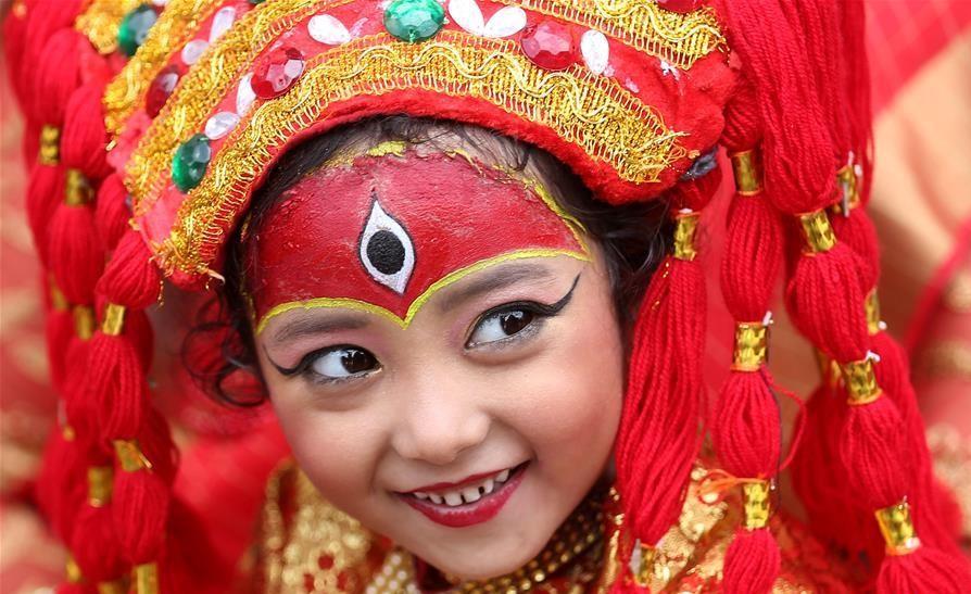 Kumari(Living Goddess)